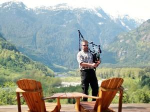 Pitt River & Garibaldi Mountains, BC
