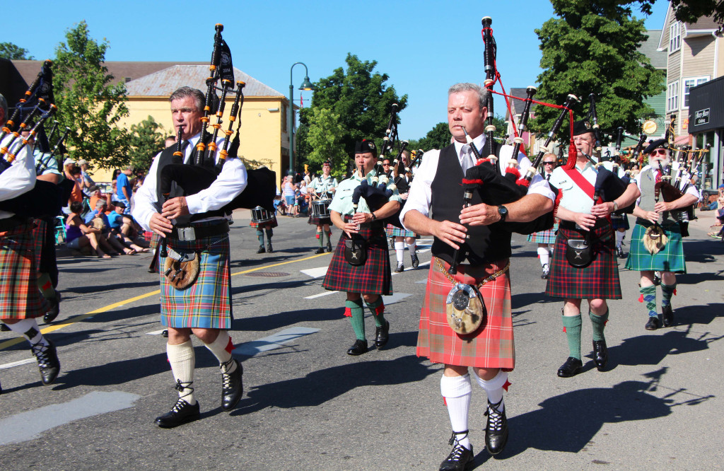 2014 Antigonish Highland Games Reunion Pipe Band