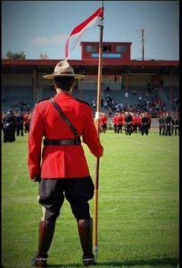 BC Law Enforcement Memorial, 2014.  Photo: Twitpic @bcRCMP